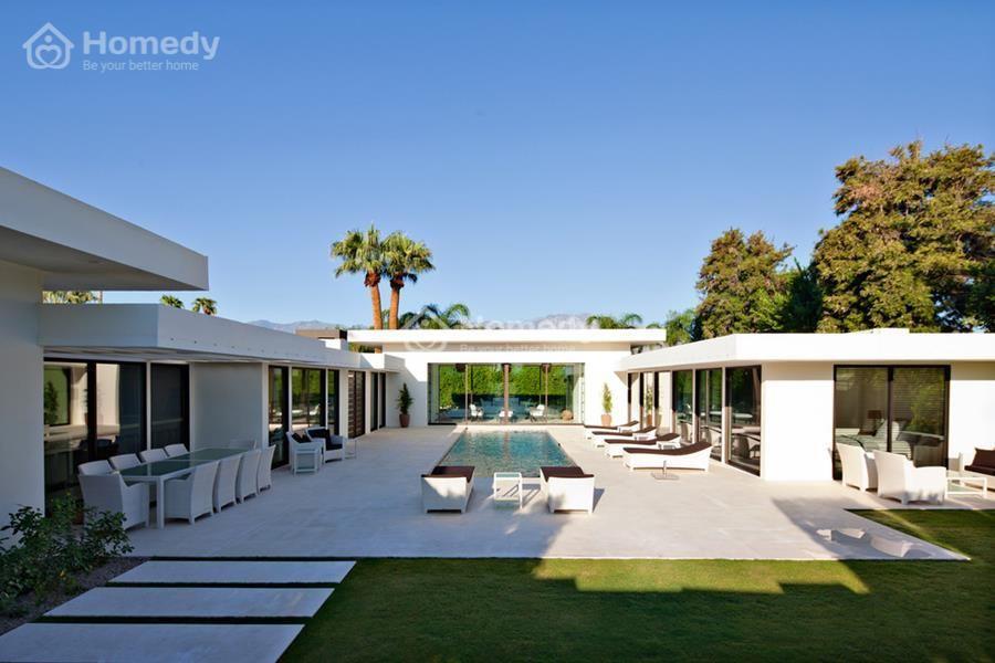 Thiết kế ấn tượng với không gian mặt tiền sang trọng từ hình khối, họa tiết, phối màu