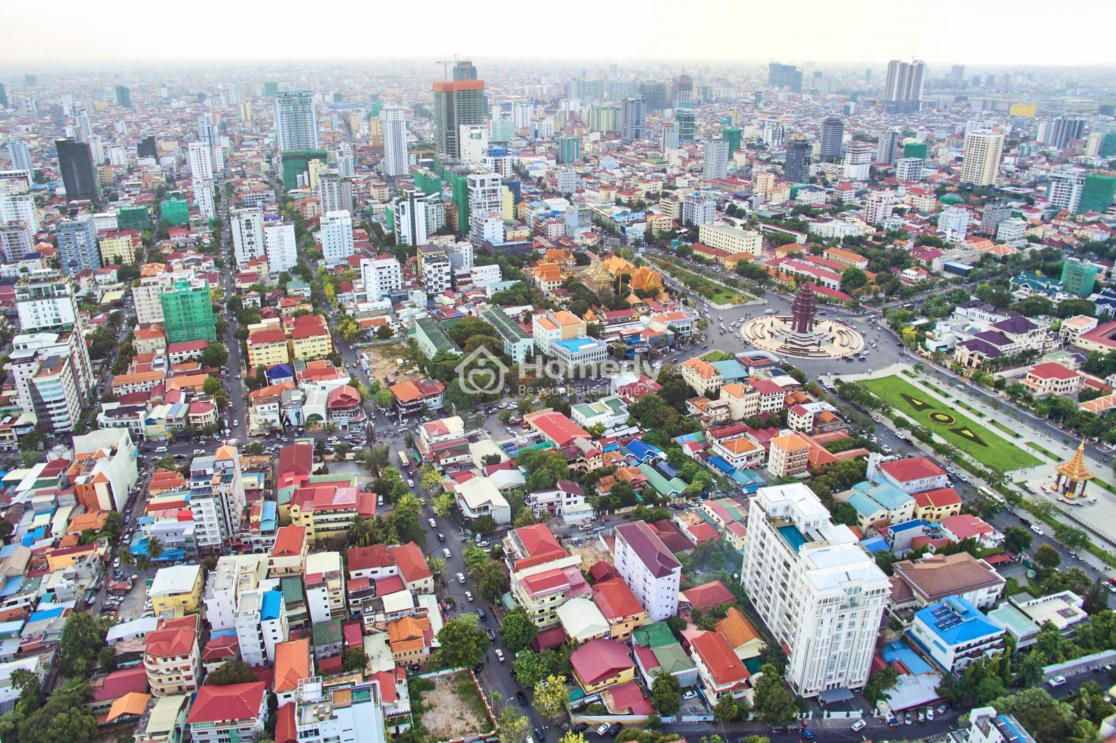 Mức thuế BĐS tại Campuchia chỉ là 0.01% giá trị thẩm định