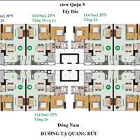 Bán 6 căn cuối suất nội bộ khu căn hộ Giai Việt Quận 8, liên hệ ngay