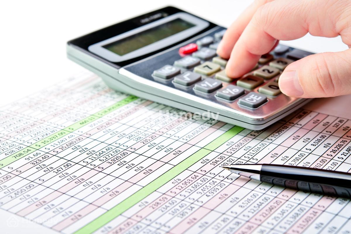 Bước 3: Kê khai thuế, phí, lệ phí