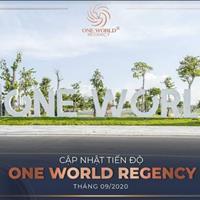 Cực hot, đất nền biệt thự siêu đẹp ngay trục chính dự án One World Regency, chỉ 19,5tr/m2