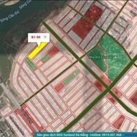 Bán đất khu đô thị sinh thái Hòa Xuân lô 75 B1.90 view dãy biệt thự sát sông đường Bùi Thiện Ngộ