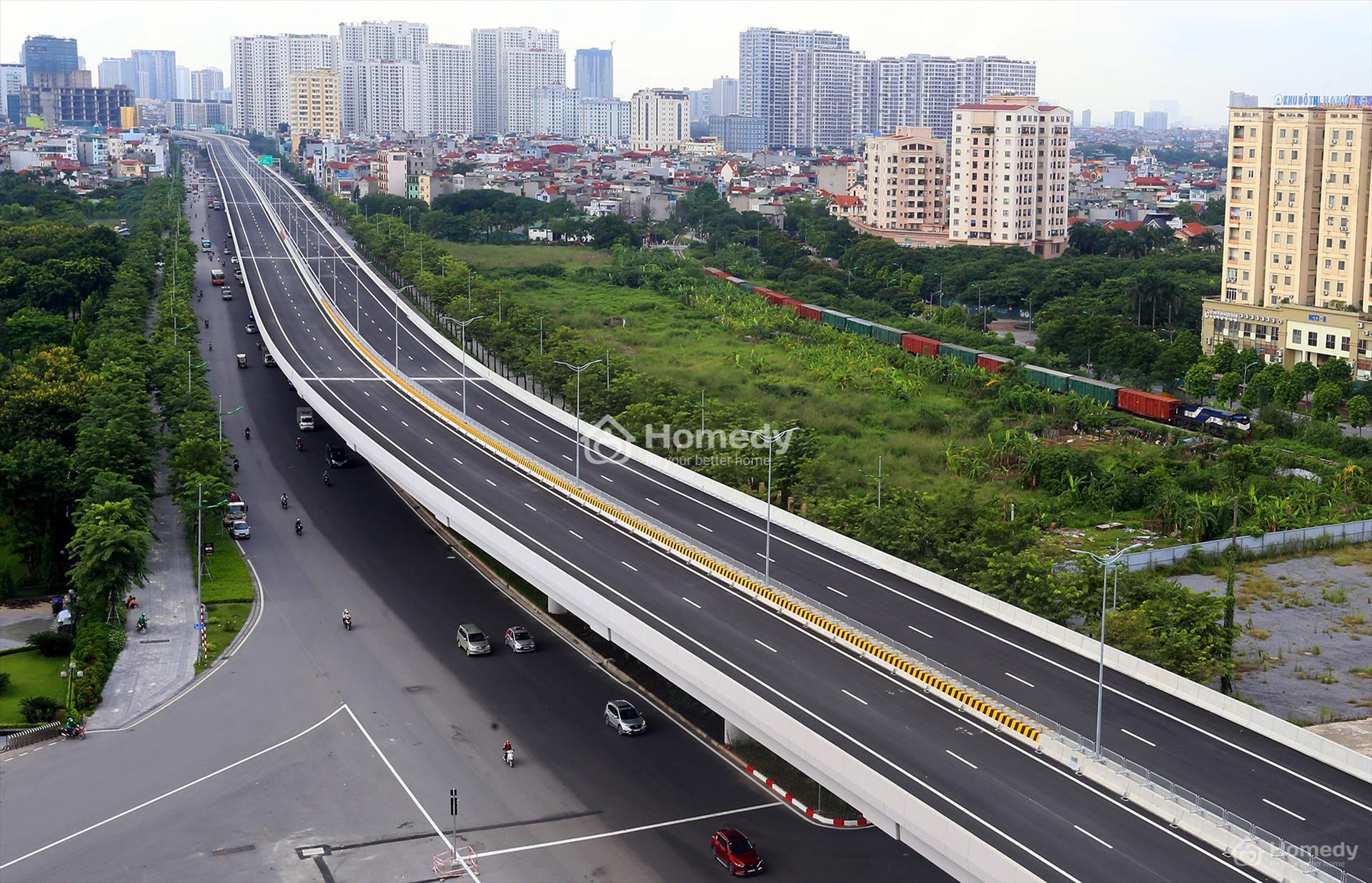 Đường Phạm Văn Đồng sau khi được mở rộng