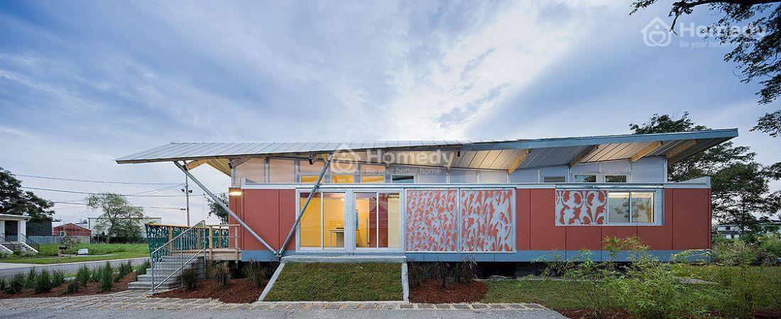 Ngôi nhà có thiết kế ngoại thất hiện đại