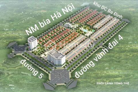 Chính chủ bán liền kề dự án New City Mê Linh (Minh Giang - Đầm Và) giá 17tr/m2