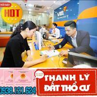 01/11/2020 VIB Bank hỗ trợ thanh lý 4 nền góc 2 mặt tiền, 16 nền bụng ngay chợ Bà Hom, SHR từng nền