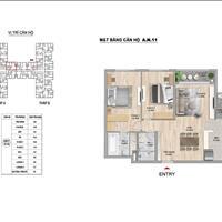 Căn hộ 2 phòng ngủ 92m2 thiết kế đẹp rộng thoáng cùng giá tốt nhất dự án The Zei Mỹ Đình