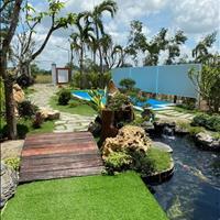 Bán nhà vườn nghỉ dưỡng, thổ cư sẵn, view bờ hồ, 300m2 giá 500tr
