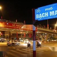 Bán 450m2 đất mặt phố Bạch Mai, quận Hai Bà Trưng, Hà Nội