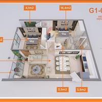 Căn hộ 2 phòng ngủ 76m2, chung cư Le Grand Jardin, quận Long Biên