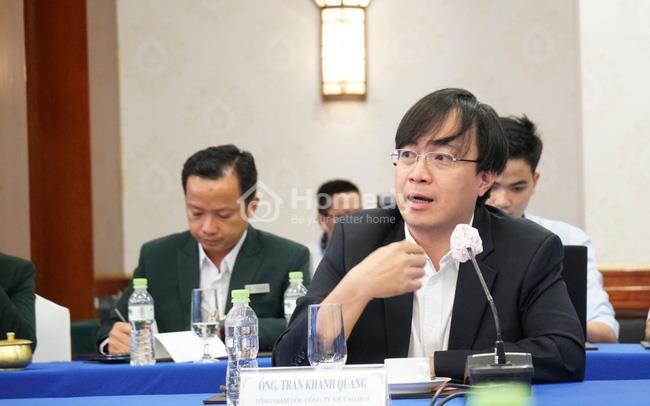 Ông Trần Khánh Quang cho rằng nhà đầu tư đang có xu hướng dịch chuyển mạnh theo các siêu dự án tại hai trục đô thị phía Nam và phía Đông