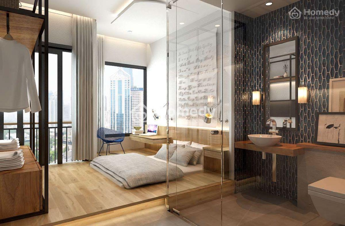 Thiết kế nội thất phòng ngủ không giường theo phong cách châu Âu