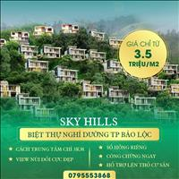 Sky Hills - Đất nền biệt thự nghỉ dưỡng bao giá toàn khu vực chỉ từ 3,5tr/m2, mua vào sinh lời ngay