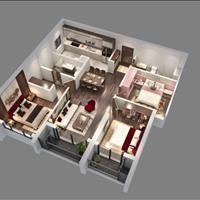 Căn hộ 3 phòng ngủ 104m2 tòa Diamond, chung cư Goldmark City