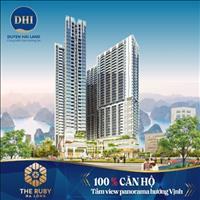 Giới đầu tư phát sốt - Chỉ từ 300 triệu sở hữu căn hộ cao cấp The Ruby Hạ Long