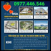 Đất nền sổ đỏ Queen Home An Phú - trung tâm TP.Thuận An, hạ tầng hoàn thiện thổ cư 100%, liên hệ
