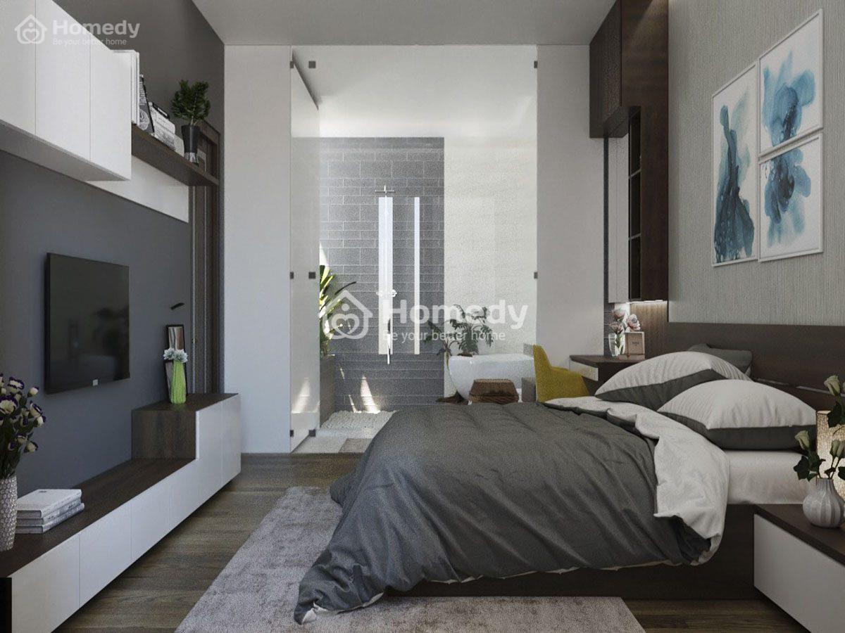 Tạo không gian mở giữa phòng ngủ với các khu vực khác