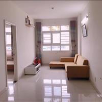 Căn hộ 58m2, 2 phòng ngủ 2wc, có nội thất, view sông, hướng Đông Nam giá thuê 6.5 triệu/tháng