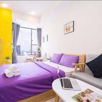 Cần cho thuê căn Officetel River Gate, đầy đủ nội thất thông minh, dọn vào là ở liền