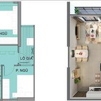 Chính chủ cho thuê căn hộ tại S2.19 Vinhome Ocean Park, diện tích 55.4m2, giá 6tr/tháng