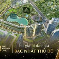Chỉ 456 triệu sở hữu chung cư cao cấp 2-3 phòng ngủ, Dualkey The Matrix One Mỹ Đình