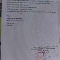 Bán đất Hàm Kiệm, Huyện Hàm Thuận Nam, Bình Thuận