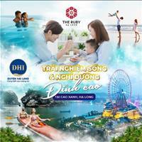 The Ruby Hạ Long, 100% view biển, cửa ngõ kết nối trung tâm tỉnh, đầu tư sinh lời 100%