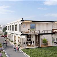Bán nhà phố thương mại shoptela 2 tầng 2 mặt tiền chợ  - Quảng Ngãi giá 860 triệu hoàn thiện