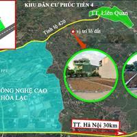 Bán đất, Bình Yên, 800tr/lô, full thổ cư, đường 2 ô tô tránh