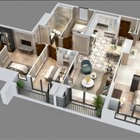 Bán căn Dual Key 143m2 (3PN + 1), Goldmark City đã có sổ, giá 25 trđ/m2, trả trước 30% nhận nhà