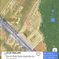 Bán lô đất 14x35m gần UBND Hồ Tràm, vị trí đẹp, cách biển 5 phút, sổ đỏ riêng, chỉ 3tr9/m2