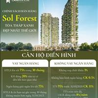 Mua nhà sang - Nhận vàng như ý - Tặng ngay 9 chỉ vàng khi mua căn hộ 2 PN tại Sol Forest Ecopark