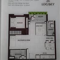 Bán căn hộ LDG Sky thuộc quận Dĩ An - Bình Dương giá 2 tỷ