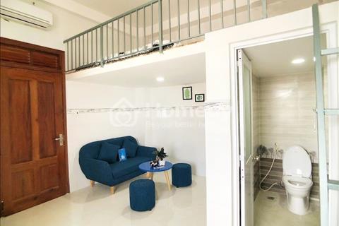 Cho thuê chung cư mini quận Bình Tân, đầy đủ tiện nghi và nội thất cao cấp, cửa sổ ban công 35m2