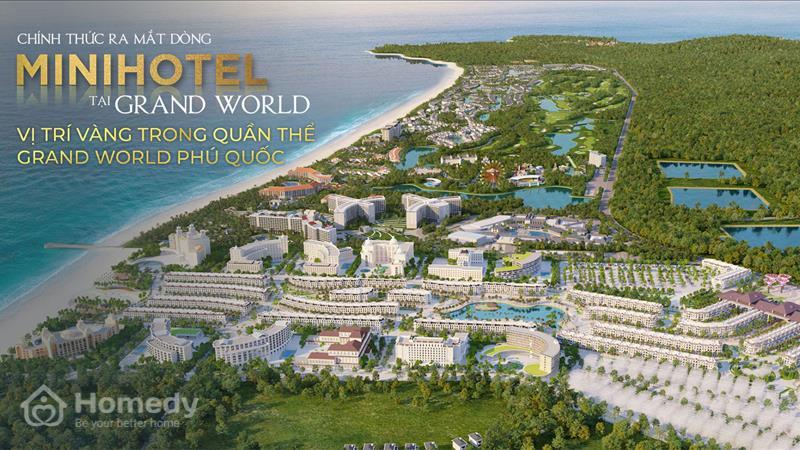 Dự án Mini Hotel Grand World Phú Quốc - ảnh giới thiệu