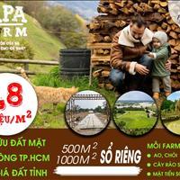 Bán đất vườn Củ Chi, cạnh sông Sài Gòn - Giá 1.8 tr/m2