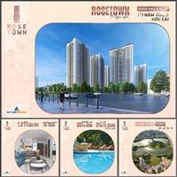 Chỉ từ 2,3 tỷ sở hữu căn 3 phòng ngủ tại Rose Town Hoàng Mai, nhận nhà ở ngay