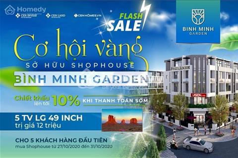 Gần kề phố cổ,  Shophouse  giá từ 7,4 tỷ - 13 tỷ dự án Bình Minh Garden