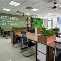 Văn phòng Nguyễn Xiển - Thanh Xuân 90m2 thông sàn đủ tiện ích, bãi đỗ xe rộng mặt tiền 6m kính