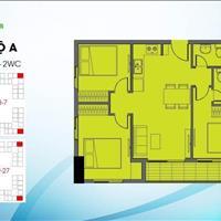 Căn 3 phòng ngủ 70m2 tầng 12 dự án Bcons Garden giá tốt
