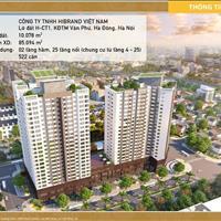 Bán căn hộ cao cấp Lacasta - Văn Phú, Hà Đông, giá chỉ 1,5 tỷ