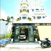 Bán nhà mới Huỳnh Tấn Phát, Nhà Bè, 5x16m, trệt 2lầu sân thượng+sân xe hơi +nội thất.giá 6tỷ2