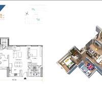 Nhượng lại căn hộ 78m2 (3 phòng ngủ, 2wc) tại chung cư Hà Nội Homeland đã có sổ hồng, vào ở ngay