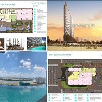 Bán căn hộ 3 PN, tháp C3 Waterina Suites view sông thiết kế theo phong cách Nhật Bản