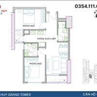 Chính chủ bán căn hộ rẻ nhất dự án Hoàng Huy Grand Tower CH17 tầng 23