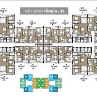 Tôi chính chủ, bán cắt lỗ CH2306, diện tích 72m2 tại dự án The Legend 109 Nguyễn Tuân giá 3 tỷ