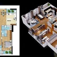 Căn hộ 3 mặt thoáng Goldmark City thiết kế cực đẹp, ban công Đông Nam