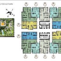 Bán cắt lỗ CH1804, diện tích 77m2, full nội thất cao cấp tại dự án GoldSeason giá 2 tỷ 800 triệu