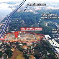 Bán đất nền dự án huyện Lương Sơn - Hòa Bình giá 1.80 tỷ