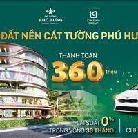 Cát Tường Phú Hưng - TT thương mại sầm uất nhất Bình Phước chỉ 360 triệu sở hữu ngay, CK 13% LS 0%